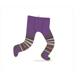 Tights dodo collection vector