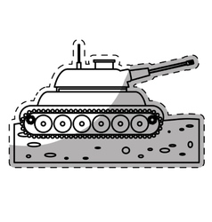 weapon icon image vector image