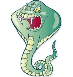 cobra snake vector image