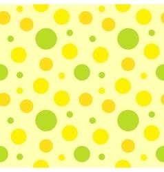 Polka dot fabric vector
