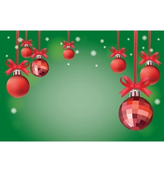 Background Christmas card vector image vector image