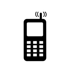Phone sign 2206 vector image vector image