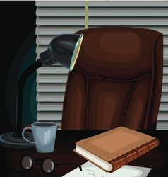 Cabinet Detective vector image