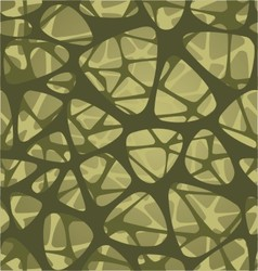 organic pattern design symmetrically vector image