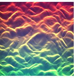 abstract glowing point noise vector image