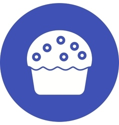 Cream Muffin vector image