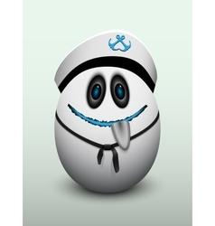 Egg cap vector