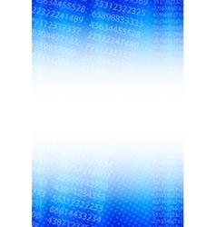 statistical background vector image