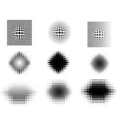 9 circular fades 3 vector