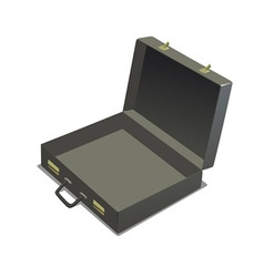 empty briefcase vector image