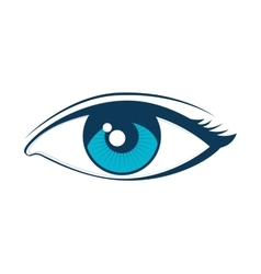 Eye look vision vector