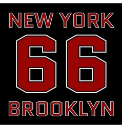 T-shirt new york vector