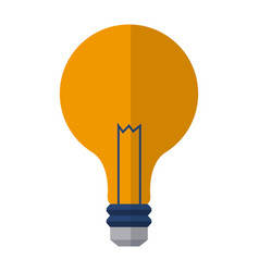 bulb light electric innovation science image vector image