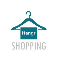 Hangr shopping logo vector