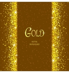 holiday template with sparkles vector image vector image
