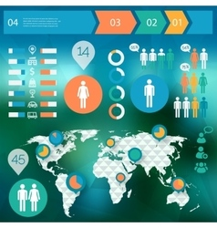 Human issues infographics vector