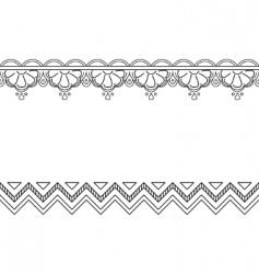 monochrome background vector image
