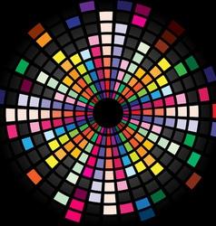 sound waveform background vector image