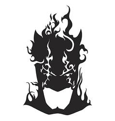 Bat mask vector