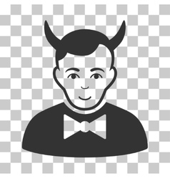 Devil icon vector