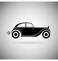icon car vector image vector image