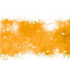Orange Christmas Background EPS 8 vector image vector image