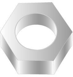 screw-nut vector image