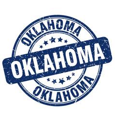 Oklahoma stamp vector