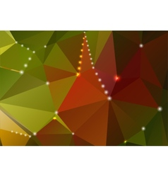 Abstract background with triangular shapes and vector
