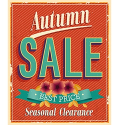Authum sale vector
