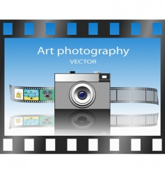 art photography vector image