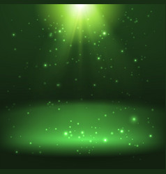 shining light effect background vector image