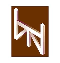 icon hurdle vector image