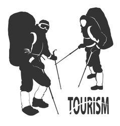 Tourism vector image