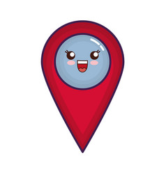 Location pin icon vector
