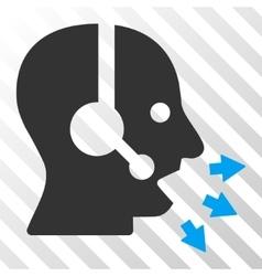 Operator Speak Icon vector image