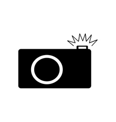 Photo camera sign 2306 vector image