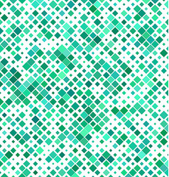 Teal color abstract square pattern background vector
