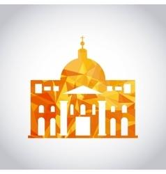 Vatican icon italy culture design graphic vector