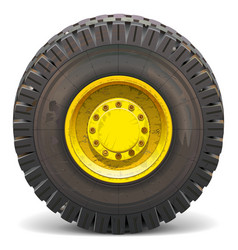 Old wheel vector