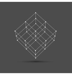 Cube icon vector
