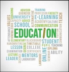 Education word vector