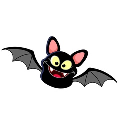 flying bat vector image