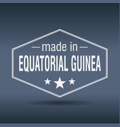 Made in equatorial guinea vector