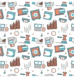 modern seamless pattern texture background vector image vector image