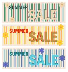 sales ad lines vector image