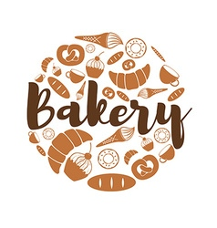 Set of Bakery and sweets icons icons vector image
