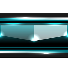 Template turquoise background vector