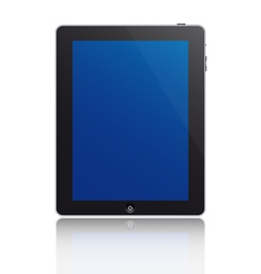 touchscreen tablet vector image
