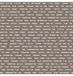 seamless background pattern with business keywords vector image